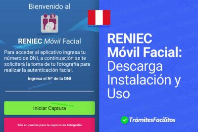 RENIEC Móvil Facial: Descargar e instalar App