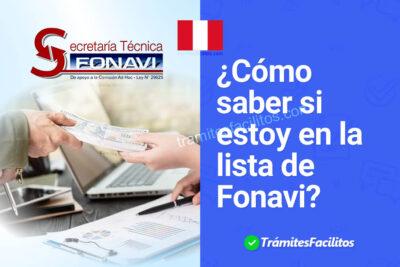 Consulta Fonavi: ¿Cómo saber si estoy en la lista de Fonavi?