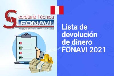 lista devolucion dinero aportes fonavi 2021