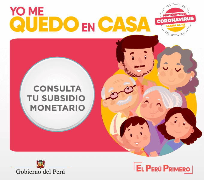Consulta bono 380 soles Perú